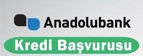 Anadolubank Kredi Başvurusu 2016