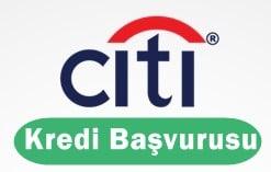 Citibank Kredi Başvurusu 2017