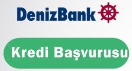 Denizbank Kredi Başvurusu 2017