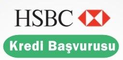 HSBC Kredi Başvurusu 2017