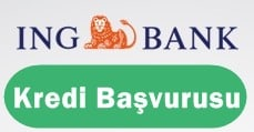 ING Bank Kredi Başvurusu 2017