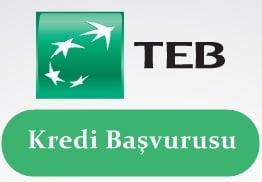 TEB Kredi Başvurusu 2017