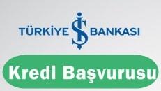 Türkiye İş Bankası Kredi Başvurusu 2017