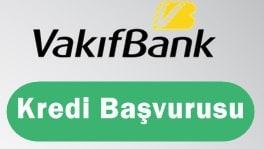 Vakıfbank Kredi Başvurusu 2017