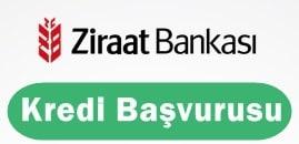 Ziraat Bankası Kredi Başvurusu 2016