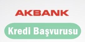 Akbank Kredi Başvurusu 2017