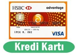 HSBC Kredi Kartı Başvurusu 2017