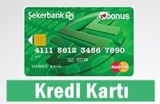 Şekerbank Kredi Kartı Başvurusu 2017