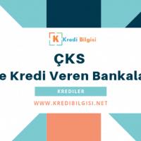 çks ile kredi veren bankalar