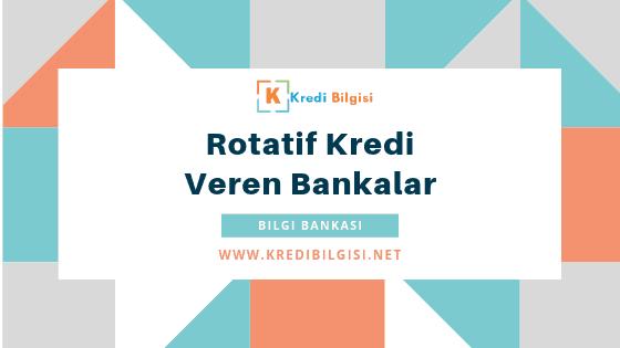 rotatif kredi