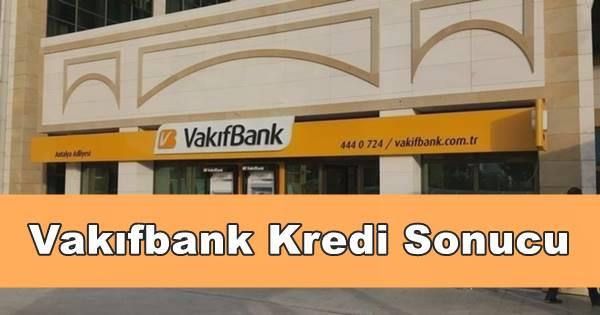 vakıfbank kredi başvuru sorgulama
