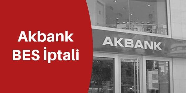 Akbank BES İptali