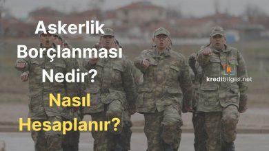 Askerlik Borçlanması Nedir, Nasıl Hesaplanır?
