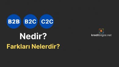B2b, B2c, C2c Nedir? Özellikleri ve Farkları Nelerdir?