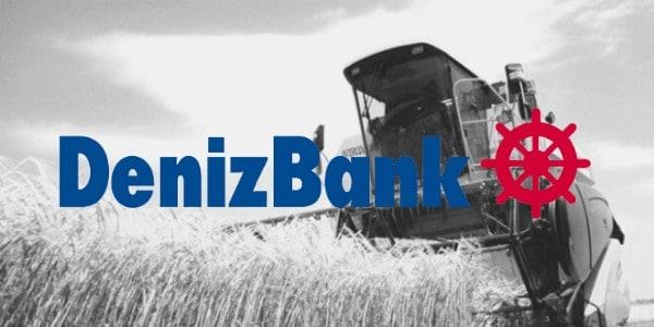 denizbank tarım bankacılığı kredi ürünleri