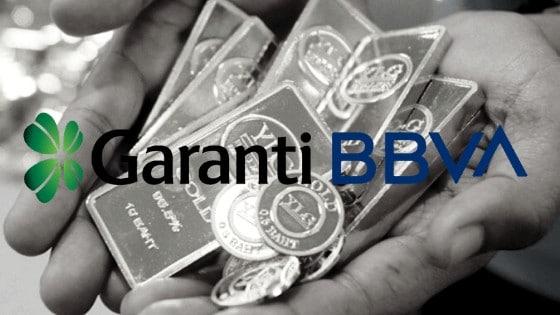 garanti bankası altın hesapları
