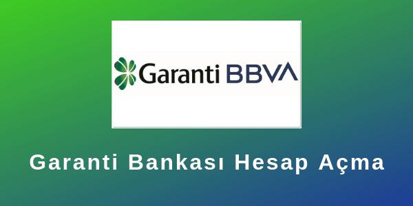 Photo of Garanti Bankası Hesap Açma