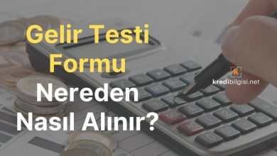 Gelir Testi Formu Nereden Nasıl Alınır ve Doldurulur?