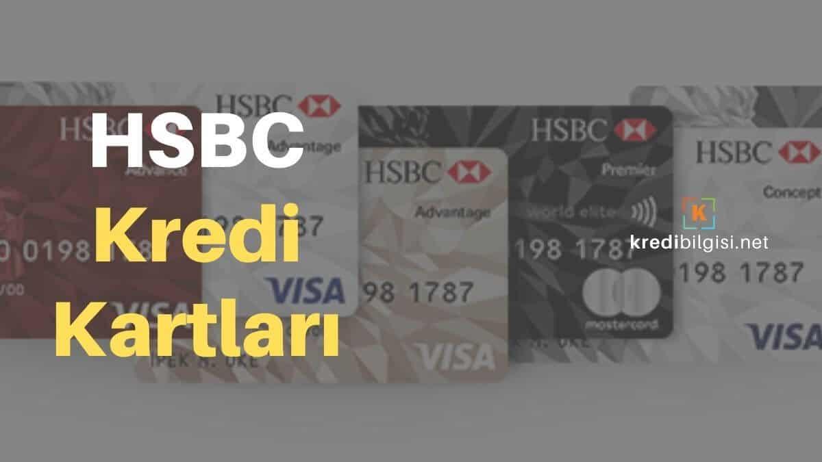 HSBC Kredi Kartı Başvurusu SMS, Online ve Şubeden