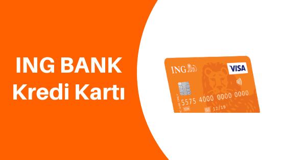 ing bank kredi kartı başvurusu sms
