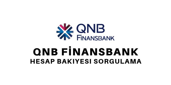 finansbank hesap bakiyesi öğrenme