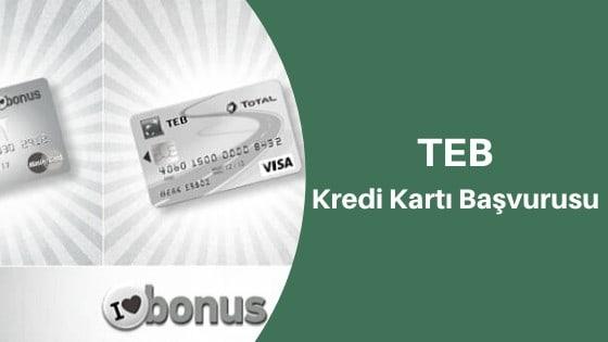 TEB Kredi Kartı Başvurusu SMS İle Nasıl Yapılır?