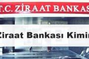 ziraat bankası devletin mi