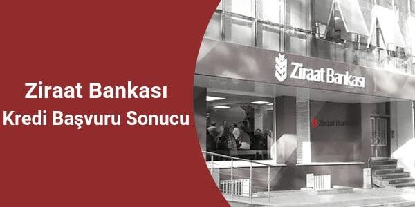 Ziraat Bankası Başvuru Sorgulama