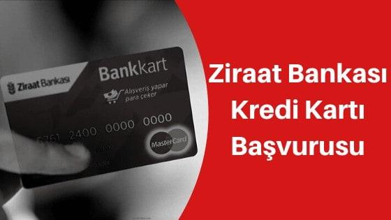 ziraat bankası kredi kartı başvurusu sms