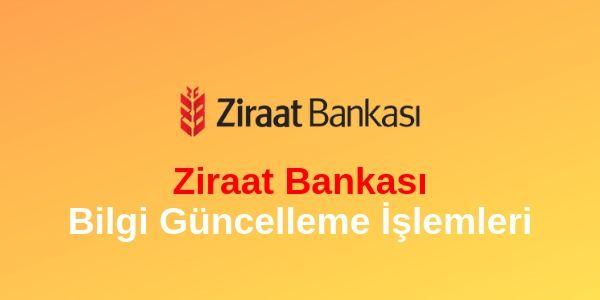 Photo of Ziraat Bankası Telefon Numarası Güncelleme