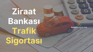Ziraat Bankası Trafik Sigortası Fiyatları 2020 Koşulları