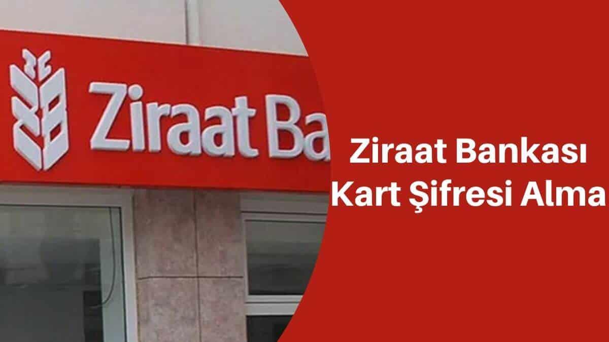 Ziraat Bankası Kart Şifresi Alma 4757 SMS ve Online